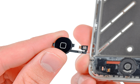ремонт замена кнопки home iphone